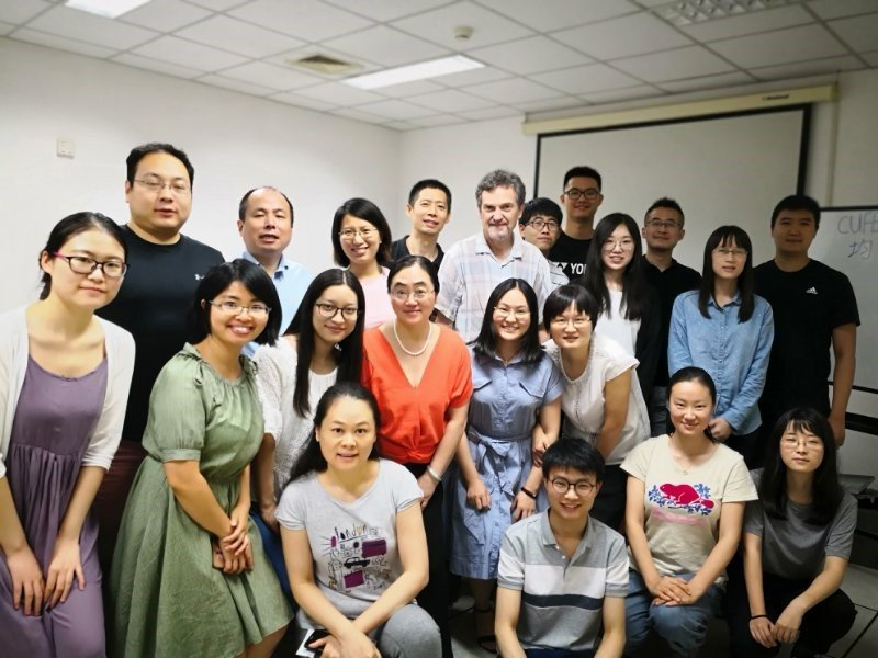 July 2018 CGE course held at Central University of Finance and Economics, Beijing
