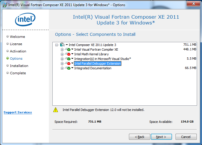 Intel visual fortran composer xe with imsl and database