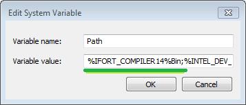 Installing Intel Fortran 14 0 for GEMPACK