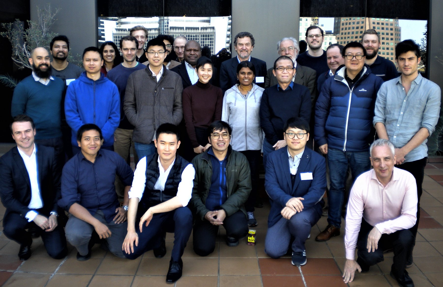 July 2019 Practical CGE course held at Victoria University, Melbourne