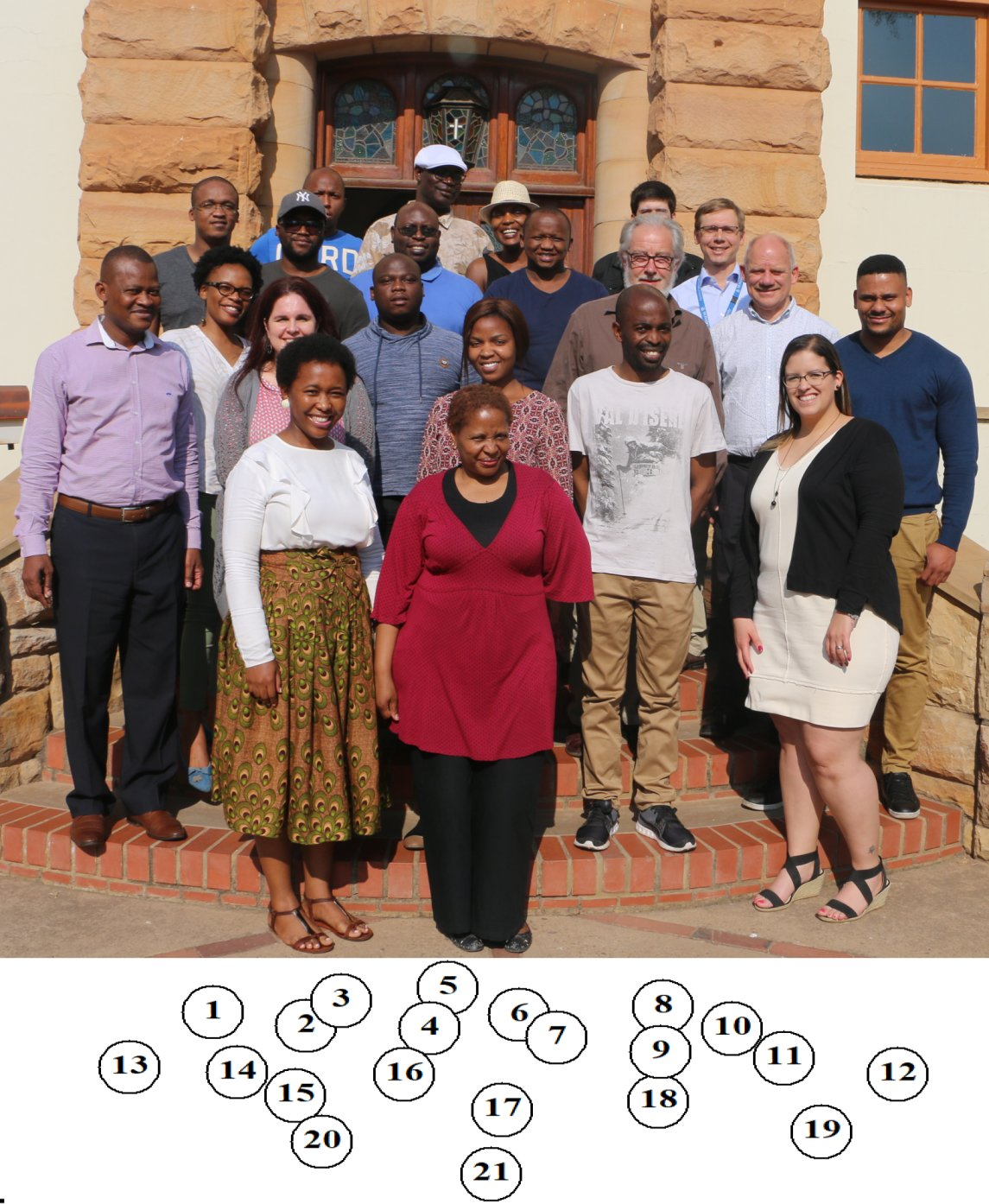 September 2017 Regional CGE course, Pretoria