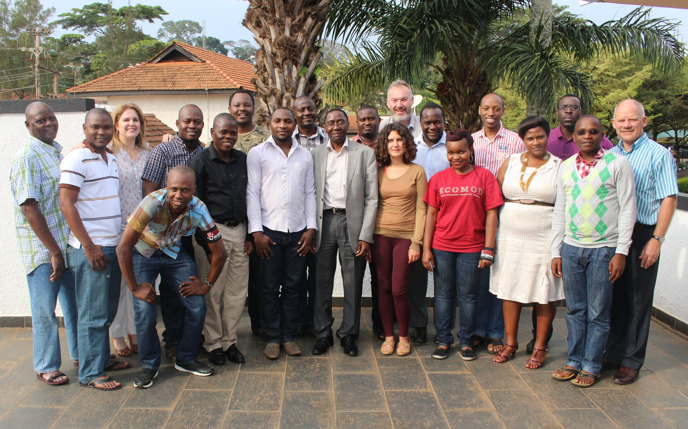 September 2015 GE Course, Entebbe, Uganda