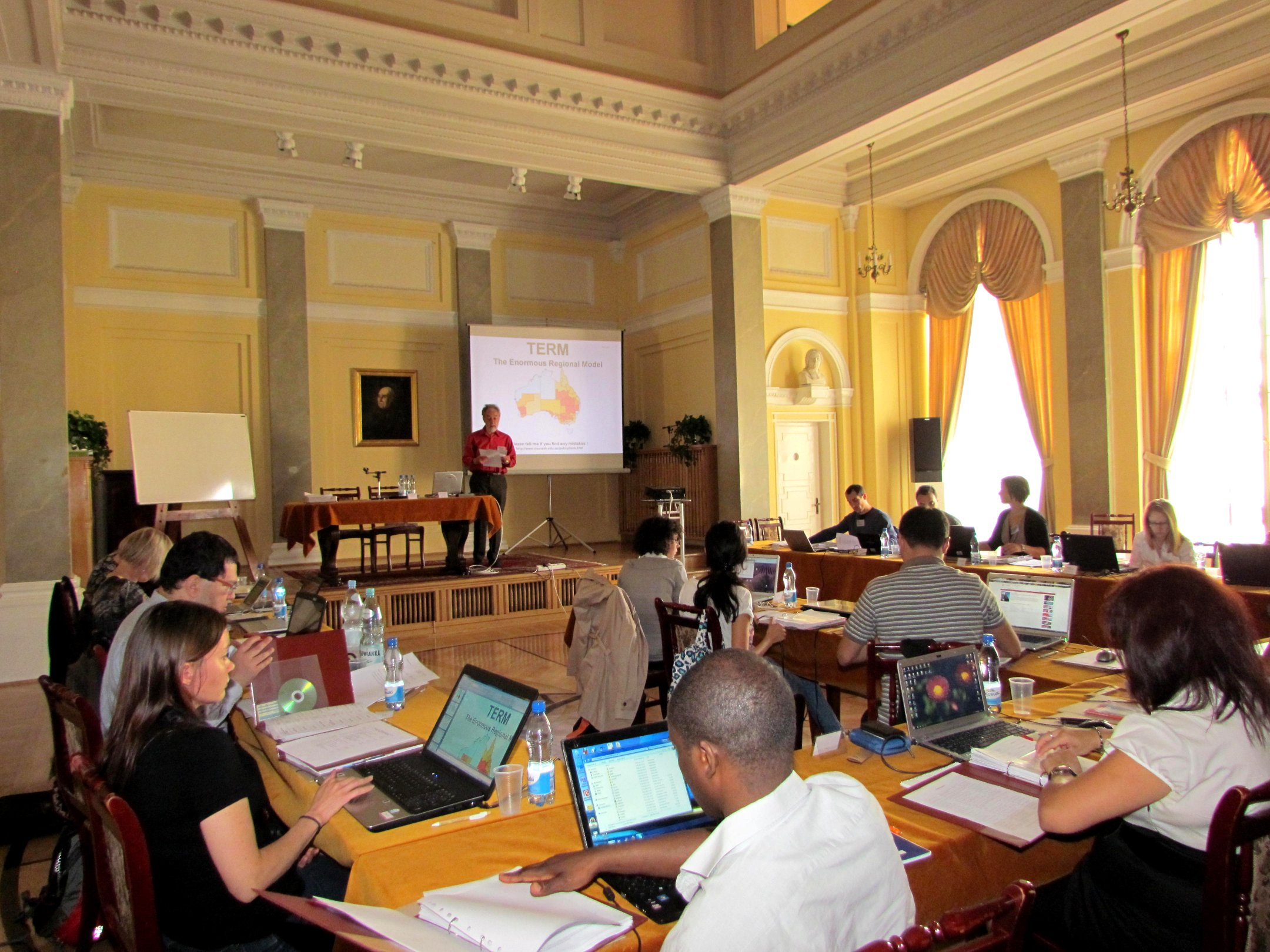 August 2011 Regional CGE Modelling Course at Polish Academy of Sciences, IRWiR, Warsaw